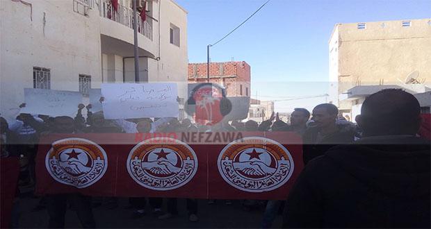 قبلي : وقفة احتجاجية لعملة الحضائر