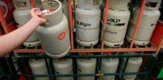 Gás de garrafa com preços congelados a partir de segunda feira