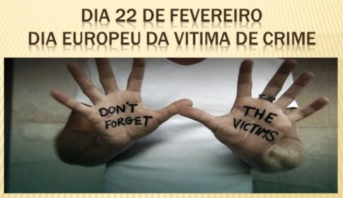 Hoje é Dia Europeu da Vítima de Crime