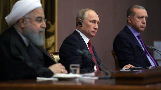 Iran, Turkey, Russia, Afrin