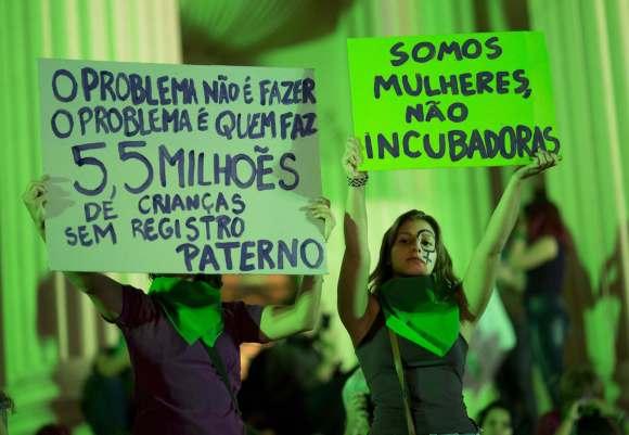 "La ""marea verde"" llegó a Brasil"