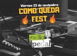 """""""Como queda fest"""" un festival de rock de cuatro bandas amigas"""
