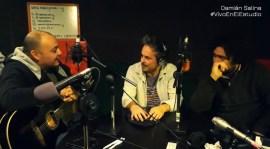#VivoEnElEstudio con Damián Salina
