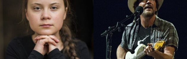 Greta Thunberg, a ativista ambiental é a estrela do novo clipe do Pearl Jam para 'Retrograde'