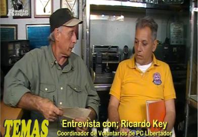 """TEMAS""Prog 07. Entrevista con Ricardo Key. Coordinador de Voluntarios de PC. Libertador. (Video)."