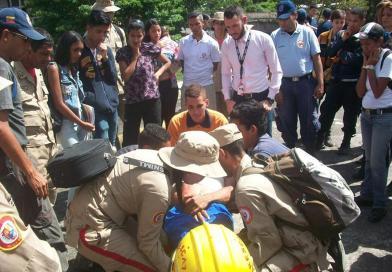 Voluntarios de Los Teques reciben capacitación. (P.C. + Hospital Victorino Santaella).