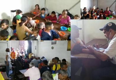 Grupos Voluntarios de Los Teques, realizaron «Sopazo Solidario».