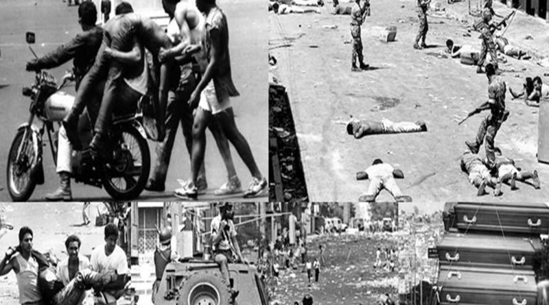 """Tragedia de """"El Caracazo"""" Febrero de 1989."""