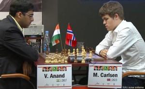 Magnus Carlsen- Viswanathan Anand
