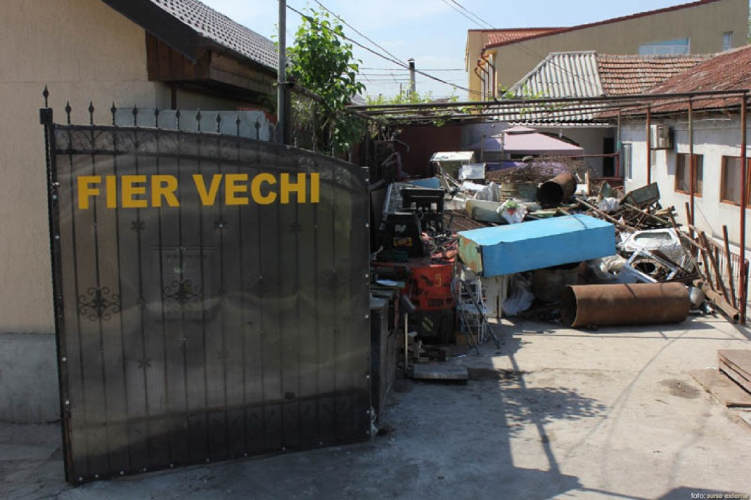 colectare fier vechi