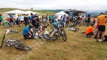 Mountainbike race