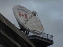 Antenne satellite CBC/Radio-Canada