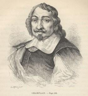 Samuel de Champlain par Ronjat