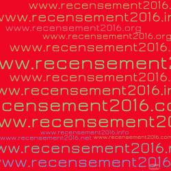 Recensement 2016