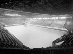 Le Mutual Street Arena où fut disputé le 1er match de hockey à la radio