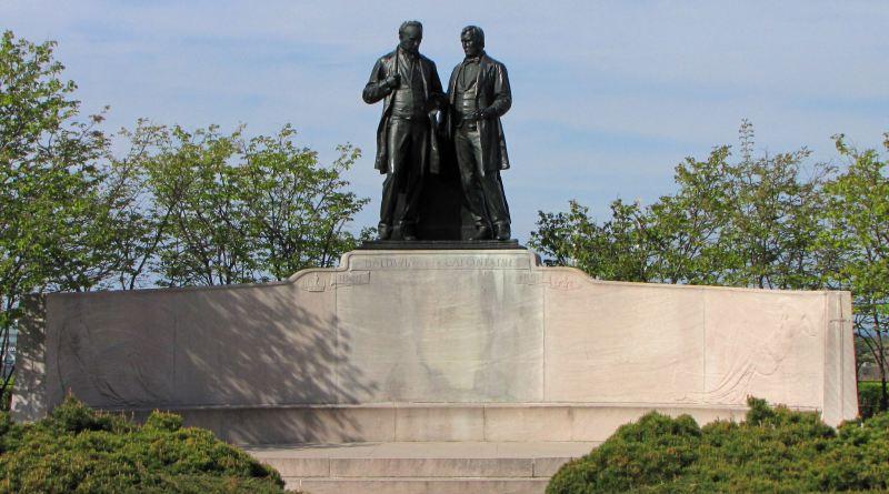 Statue de Baldwin et La Fontaine