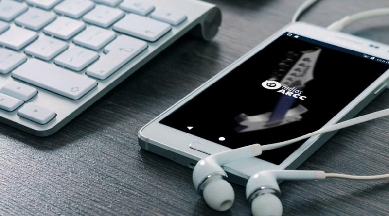 L'application « radios ARCC » installée sur un appareil Android