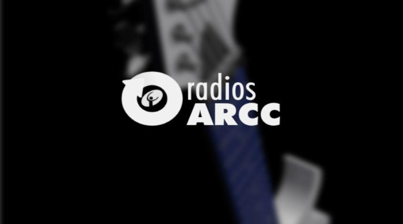 Écran d'accueil de l'application pour Android « radios ARCC »
