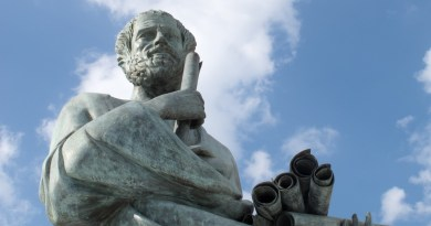 Statue du philosophe grec Socrate