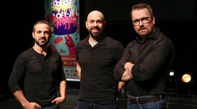 Christian Essiambre, André Roy et Luc LeBlanc