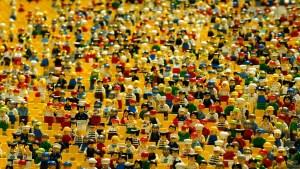 Une bande de figurines Lego®