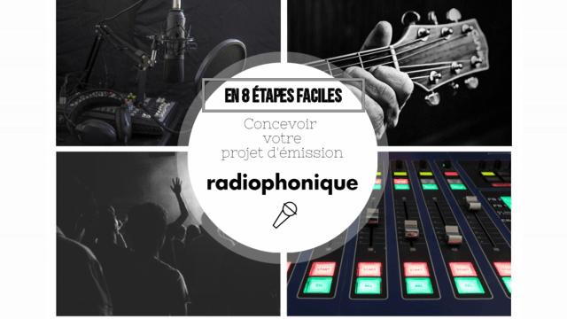 Concevoir votre projet d'émission radiophonique en 8 étapes faciles