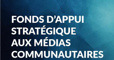 Fonds d'appui stratégique aux médias communautaires