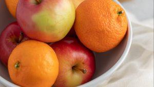 Des pommes et des oranges