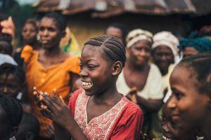 Des femmes africaines réunies en groupe