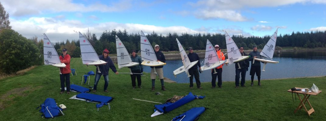 Blustery Start to RC Laser NZ Inter-Island Championships