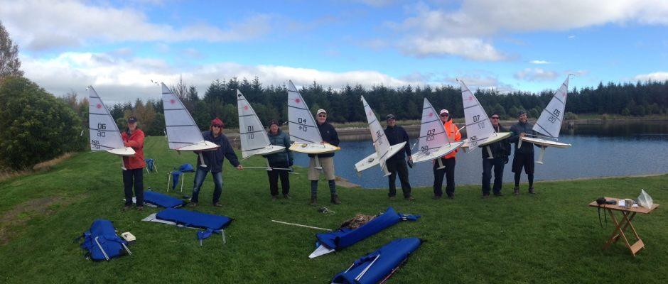 Blustery Start to RC Laser NZ Inter-Island Championships