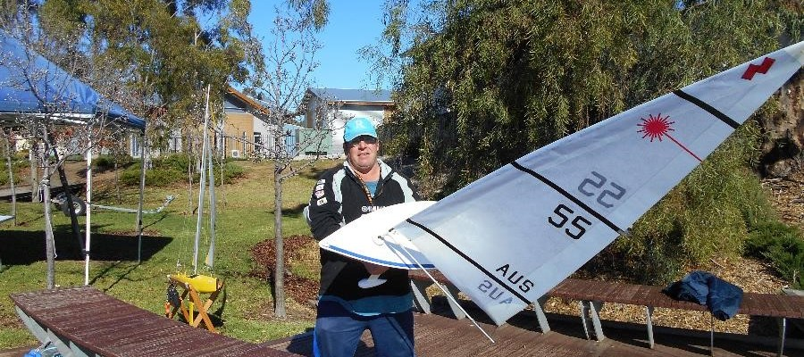South Australia Radio Yachting RC Laser Series