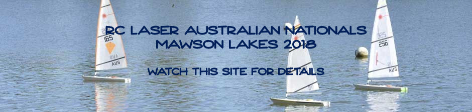 2018 RC Laser Sailing National Championships at Mawson Lakes, SA