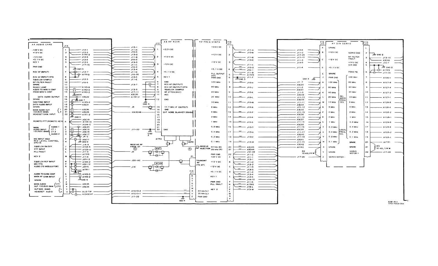 Figure Fo 33 Chassis A10 Schematic Diagram Sheet 3 Of 5