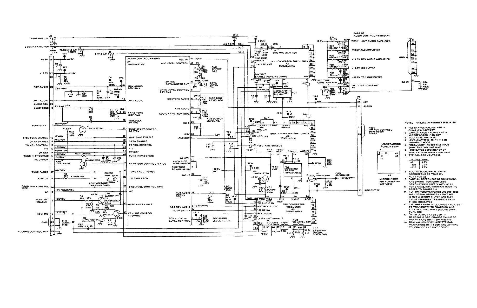 Figure 3 1 Modulator Demodulator A1a1 Schematic