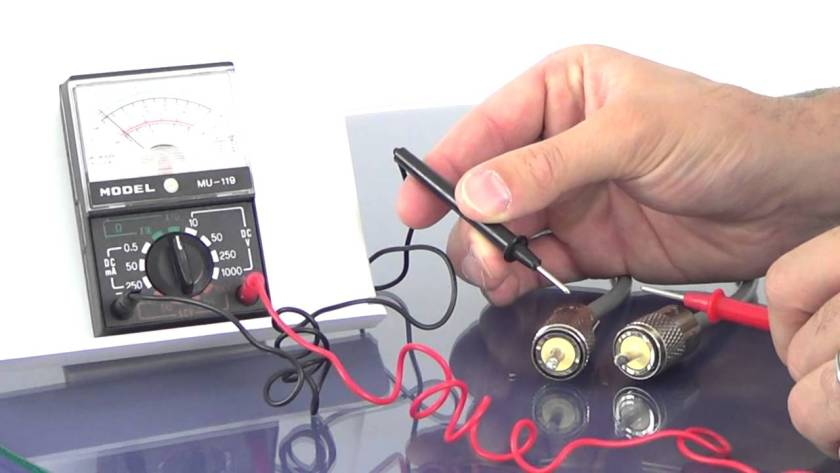 Testing CB Antenna Coax Cable