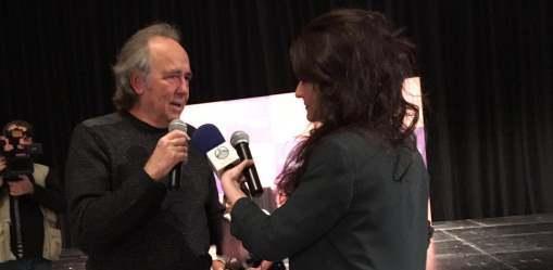 Radio Sol en la presentación de la nueva gira de Serrat