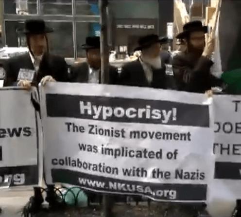 Immagini e nuovo video  Ebrei ortodossi denunciano