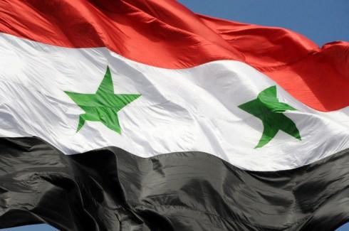 La bandiera Siriana
