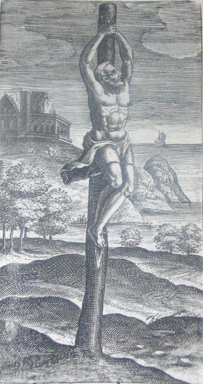 Crux simplex seu stipes