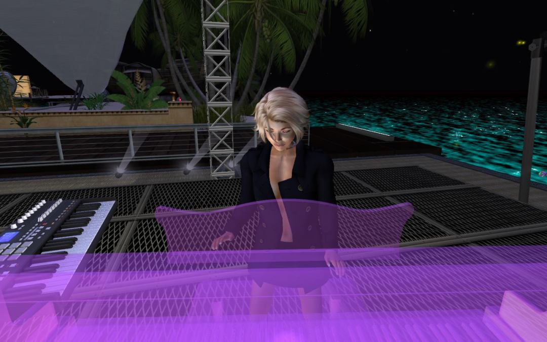 LIVE on RadioSpiral and in Second Life: Sandia Beaumont