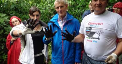 Contaminación de Chevron-Texaco es verificado por Parlamentarios Europeos
