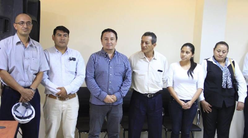 Directores y Jefes departamentales del GADMLA