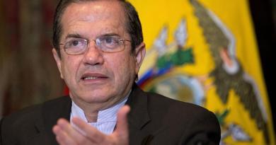 Consejero presidencial Ricardo Patiño