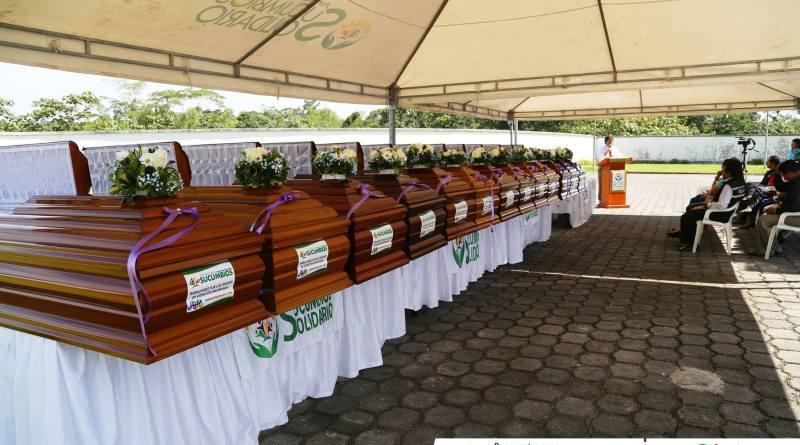 13 cadáveres permanecen sin retirar del Centro Forense de Sucumbíos