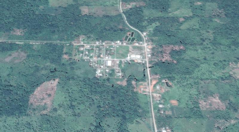 Límites definitivos de la parroquia 10 de Agosto cantón Lago Agrio