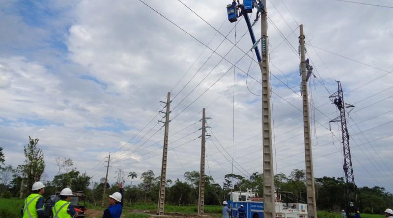 Luego de 10 meses de haberse inaugurado la central hidroeléctrica Coca Codo Sinclair, Orellana y Sucumbíos reciben las primeras megas de energía