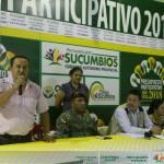 El presupuesto para el transporte de Sucumbíos del año 2018 es de medio millón de dólares y serán distribuidos en obras para todas las operadoras, según indicó en prefecto de Sucumbíos Guido Vargas en una asamblea con los representantes de las operadoras de transporte de la provincia.