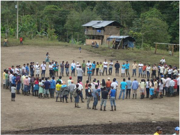 La nacionalidad indígena AWA en Sucumbíos busca conformar una Federación Provincial