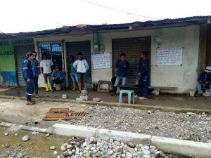 Trabajadores de la mayor contratista del alcalde de Cuyabeno denuncia falta de pagos y se paralizan en Tarapoa
